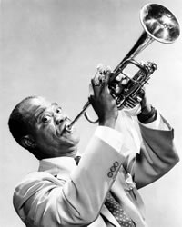 "Louis Armstrong & His All-Stars – ""Struttin' With Some Barbecue"""