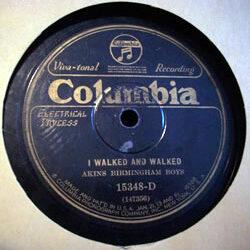 "Akins Birmingham Boys – ""I Walked And Walked"""