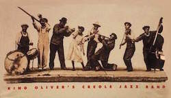 """Canal Street Blues"" by King Oliver's Creole Band"